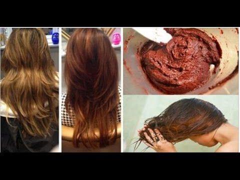 5 receitas naturais para você pintar seu cabelo em casa sem nenhuma química tóxica! - YouTube