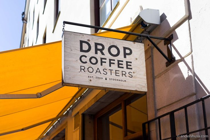 Discover my favorite coffee bar in Stockholm – Drop Coffee. If you are wondering where to drink the best hand-brewed coffee in Sweden's capital then this is your place.