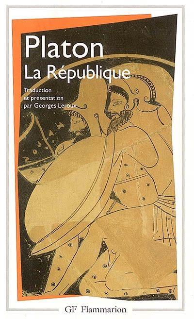 PLATON. La république. Flammarion, Paris, 2002.