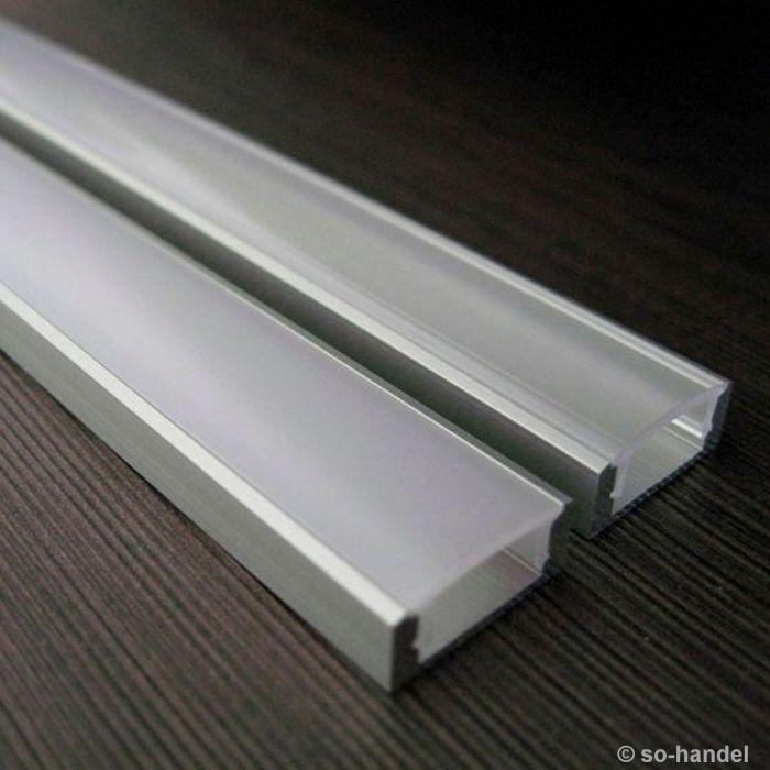LED Profil-1 opal 2 m für LED Streifen