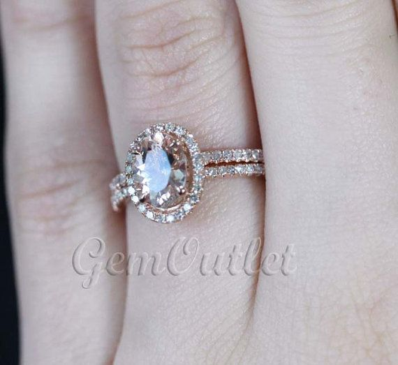 17 Best 1000 images about Rose Gold Engagement Rings on Pinterest