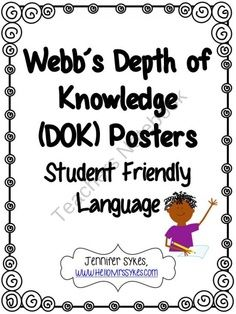 16 best Depth of Knowledge (Rigor) images on Pinterest