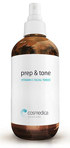 Organic Vitamin C Prep & Tone (4oz) Facial Toner and Prep for Chemical Peels, Moisturizer, Night Cream & Serums- Balance pH Levels, Minimize Pores and Remove Excess Dirt, Oil, and Make-Up-- Best Vitamin C for Skin - http://essential-organic.com/organic-vitamin-c-prep-tone-4oz-facial-toner-and-prep-for-chemical-peels-moisturizer-night-cream-serums-balance-ph-levels-minimize-pores-and-remove-excess-dirt-oil-and-make-up-be/