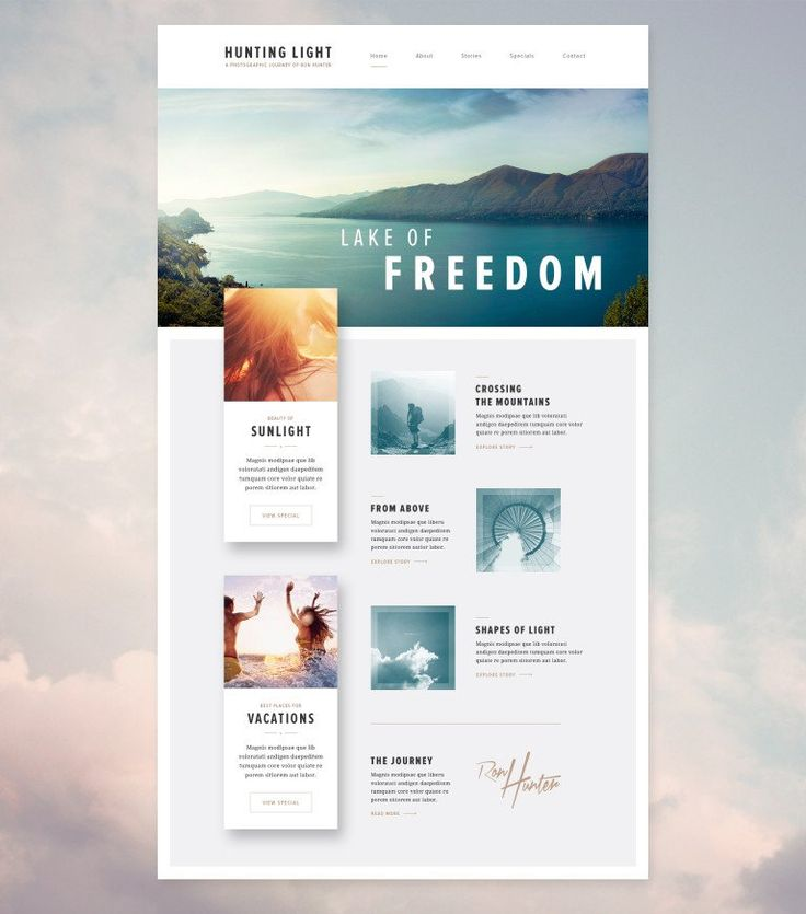 Case study   website design for photographers