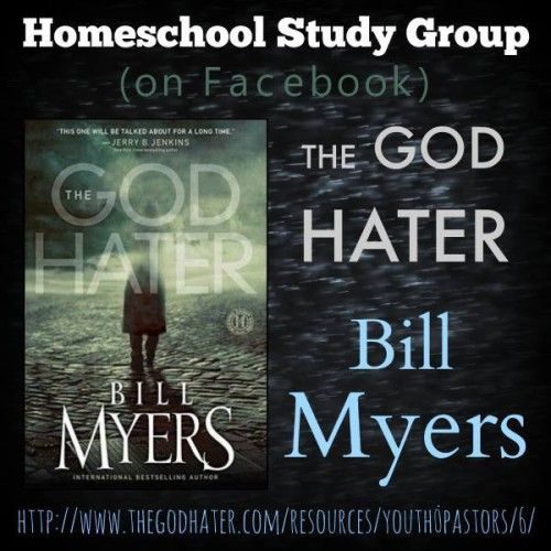 The God Hater book study will be conducted in a private Facebook group for homeschool high school students (and public school students). September 22 thru October 31, 2014. Join us!