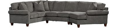 Havertys - Corey Sectional Check to see if I can design it for my living room