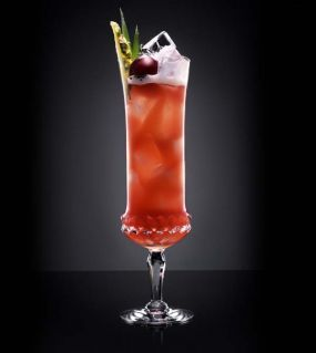 Singapore Sling Recipe served at Food and Wine Festival  in EPCOT at Disney World