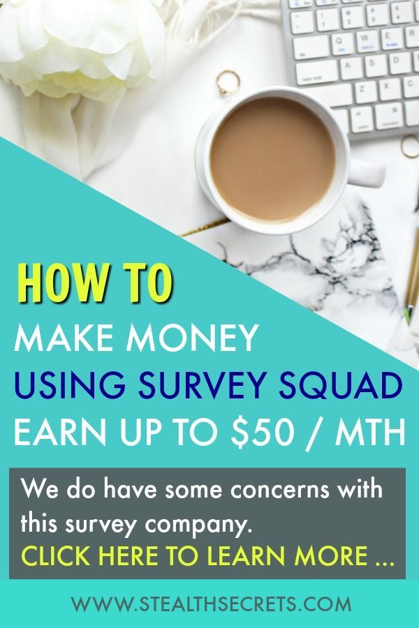 Learn How To Make Money Using Survey Squad – Make Money With Surveys