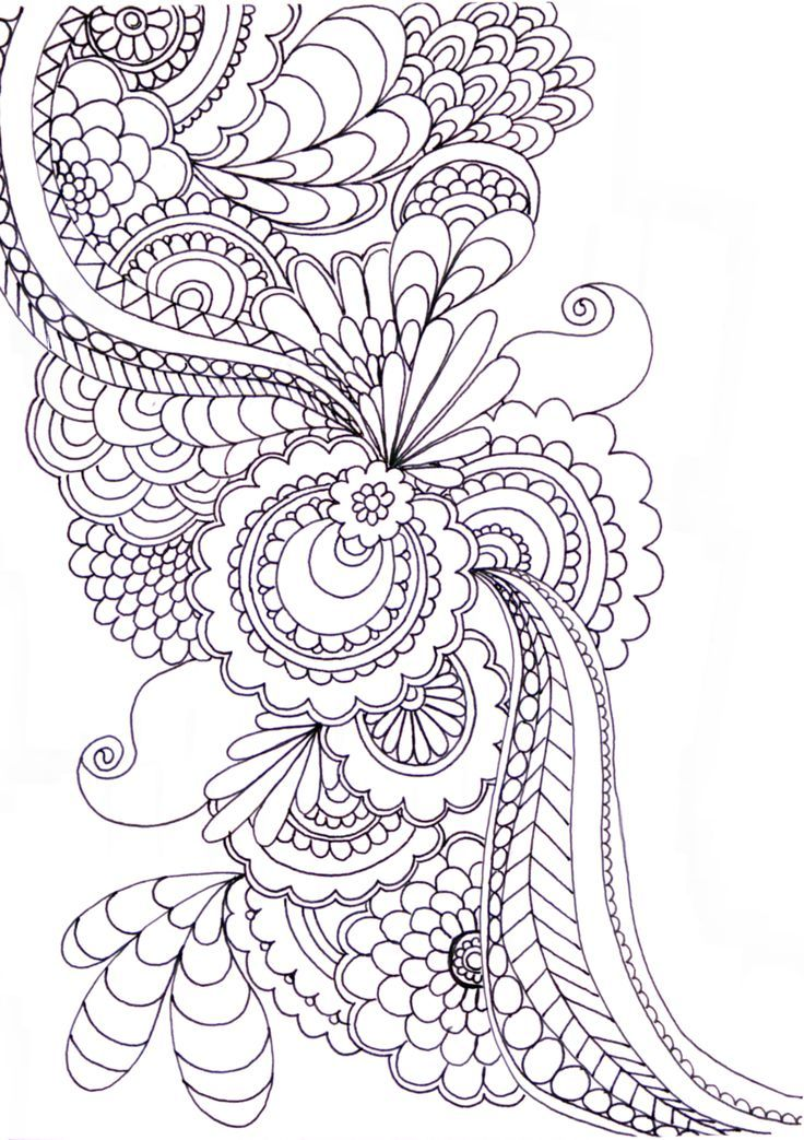 Zentangle Patterns & Ideas. #ZentangleDesign