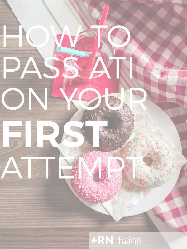 Is the thought of taking your ATI exams freaking you out? Click through to find out how you can pass every ATI exam on your first try!