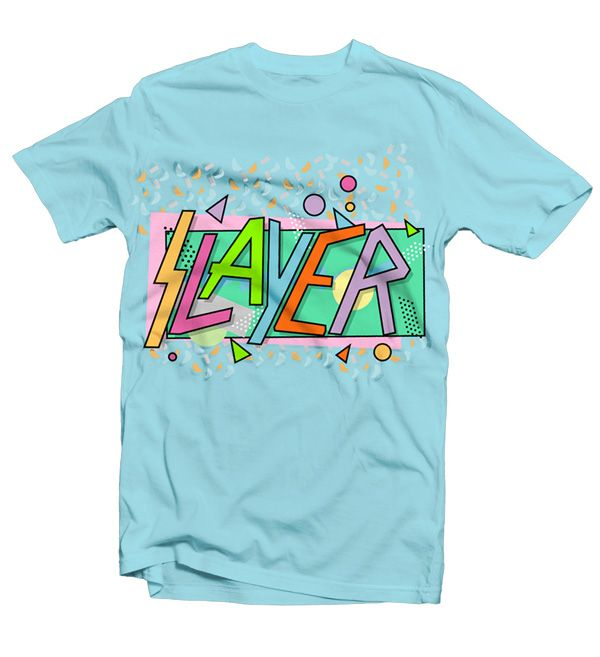 Slayer T-shirt by Badcoverversion