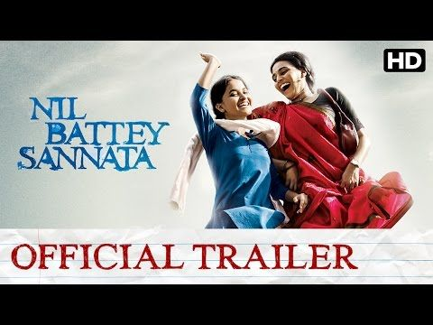 Nil Battey Sannata Official Trailer with Subtitle | Swara Bhaskar, Ratna Pathak - YouTube