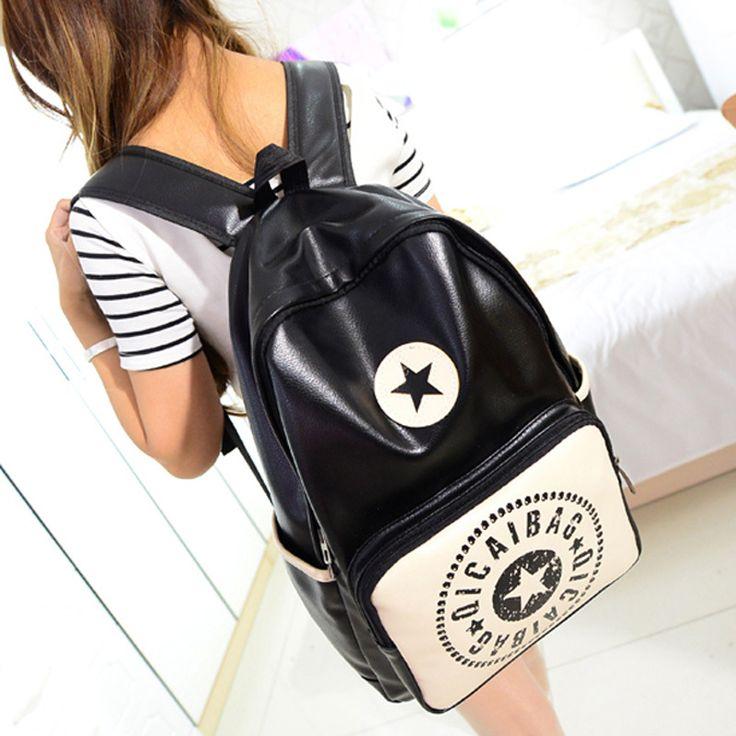 $21.99 (Buy here: https://alitems.com/g/1e8d114494ebda23ff8b16525dc3e8/?i=5&ulp=https%3A%2F%2Fwww.aliexpress.com%2Fitem%2FBlack-Star-Lovers-Package-Boy-Girl-Student-Package-Shoulder-Bag-Korea-Harajuku%2F32305879264.html ) 2015 the newest Korean fashion harajuku shoulder-bag black star lovers package preppy boy/girl student men/women shoulder bag for just $21.99