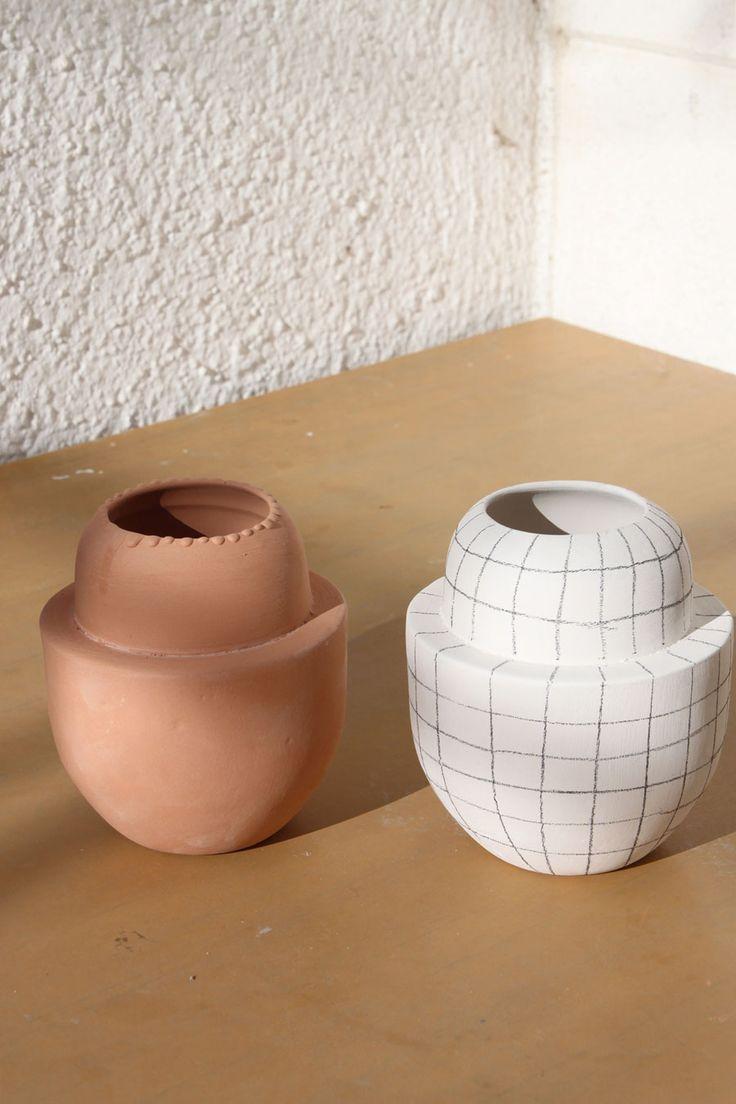 Dunja Ignis Ceramics / Contemporary Ceramics - minimal ceramics design www.factoryoffashion.com