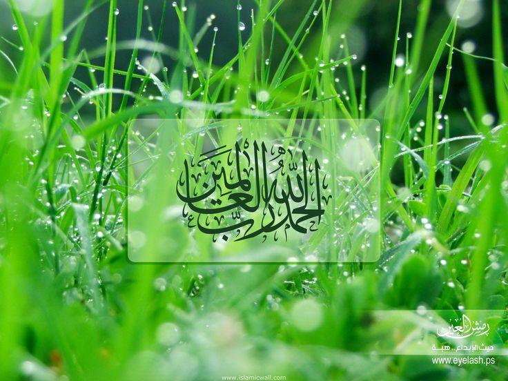الحمد لله رب العالمين  [All] praise is [due] to Allah, Lord of the worlds