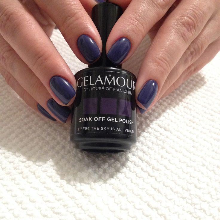 Culoare de toamnă Gelamour  #15f94 The Sky Is All Violet comanda de la https://www.facebook.com/GelamourRomania