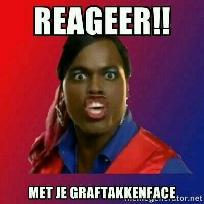 Reageer