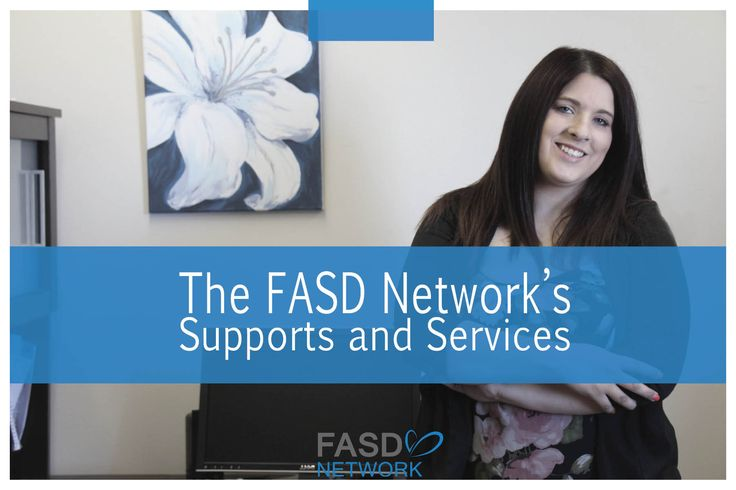 FASD Supports and Services from the FASD Network #FASD