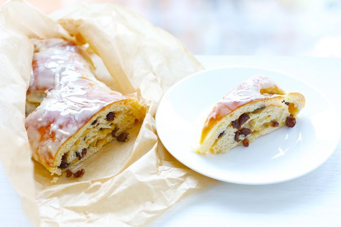 HAPPY LIVING - Шведский яблочный пирог...с мороженым!