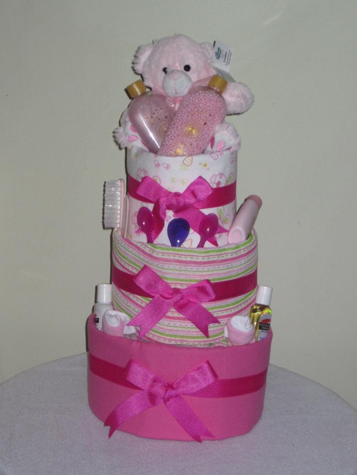 Baby and Mum Pamper Nappy Cake
