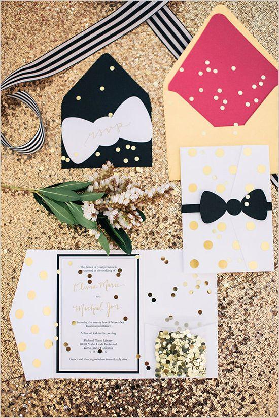 kate spade invitation suite #weddinginvitation @weddingchicks