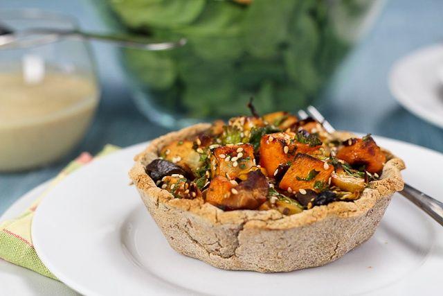 Rustic Sweet Potato Mini Pies | Recipe