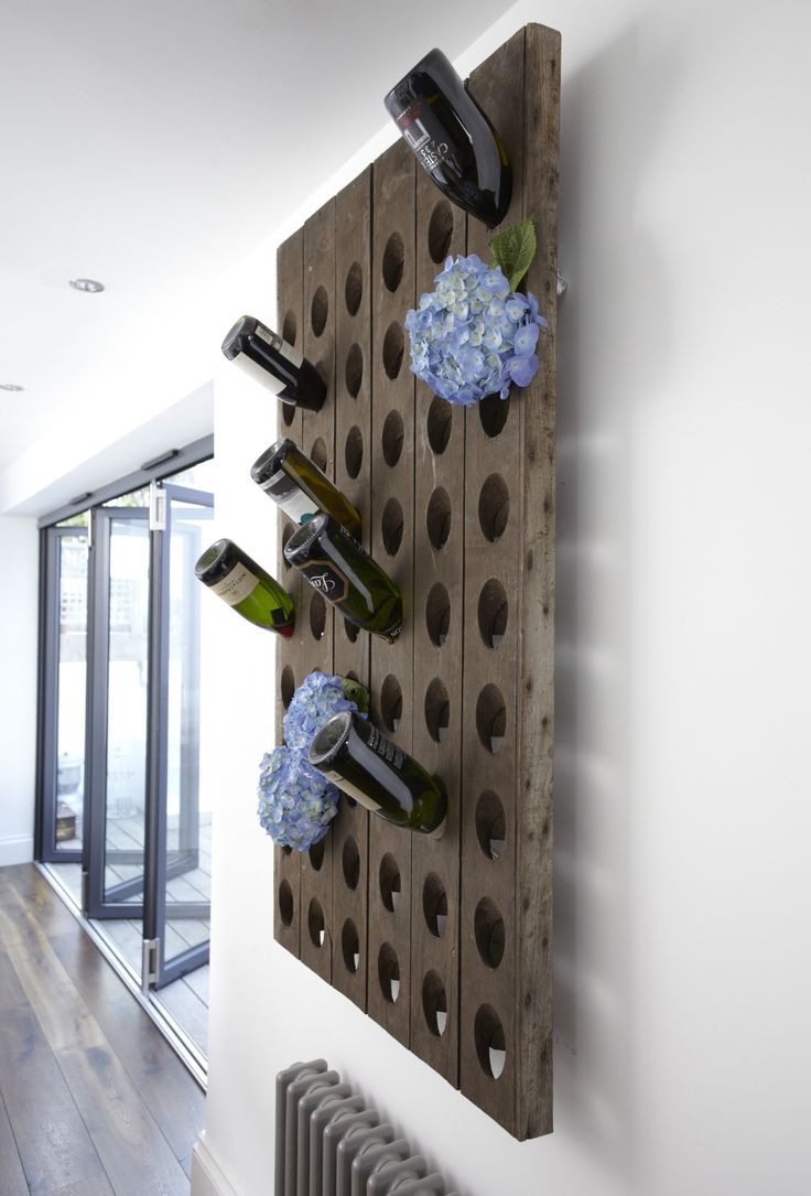 Design Vintage | French Oak Wine Rack | Champagne Rack