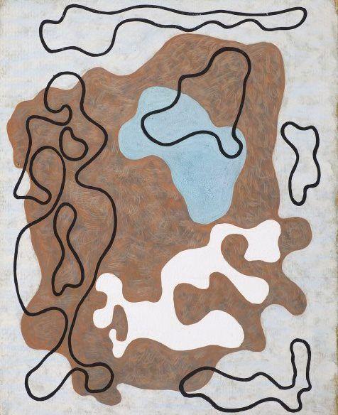 """Wladyslaw Strzeminski  """"Kompozycja morska. Wenus"""". 1933"""