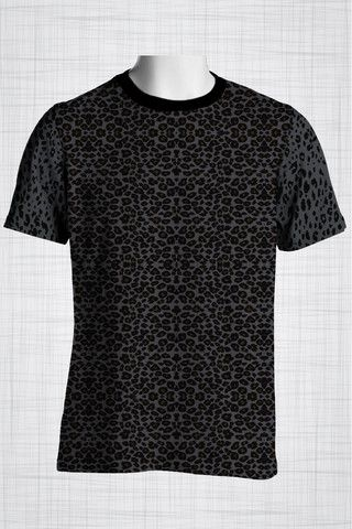 Plus Size Men's Clothing Grey Leopard print t-shirt Wild Grunge Collection - Plus size men's clothing Fabric for this t-shirt is a lightweight polyester cotton fabric that,  * absorbs moisture  * transfers body perspiration away from the skin  * breathable and lightweight * tear resistant  * shrink resistant * quick drying  * comfortable