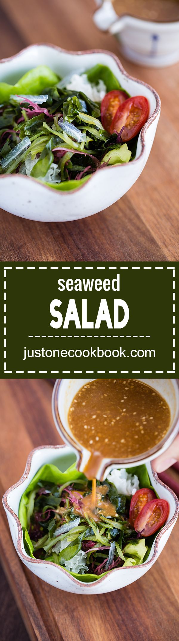 Seaweed Salad (海藻サラダ) | Easy Japanese Recipes at JustOneCookbook.com