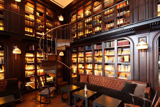 The Library Bar  Nomad Hotel, 1170 Broadway, at 28th St.; NYC