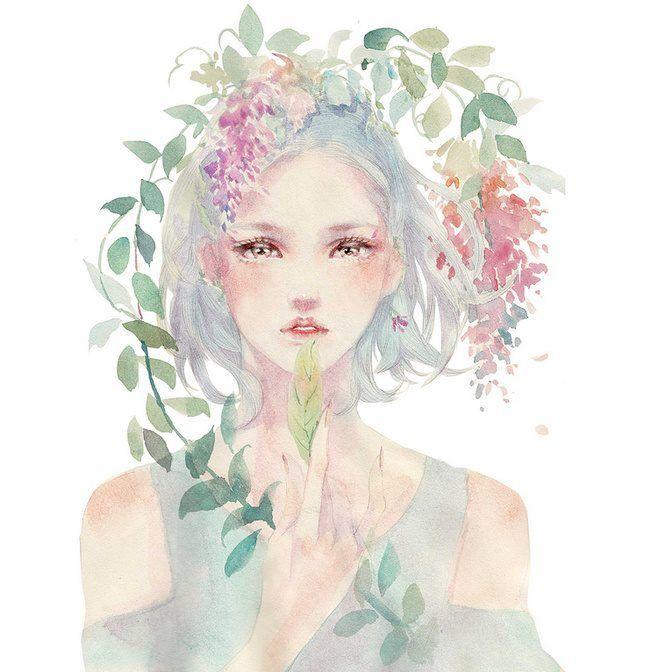 best 25 manga watercolor ideas on pinterest copic art