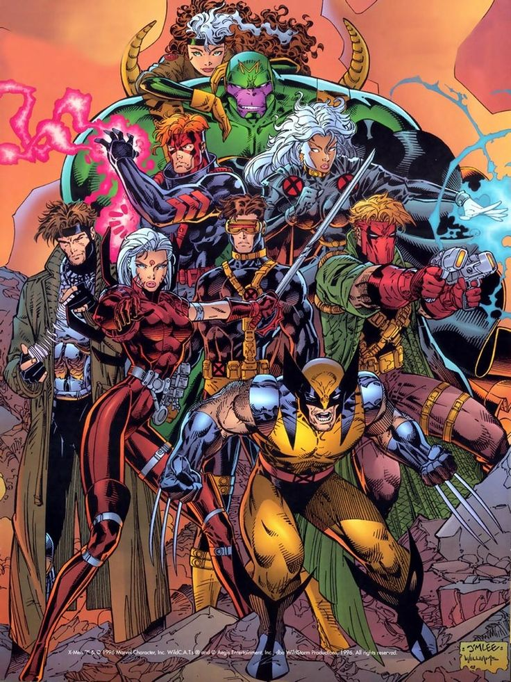 X-Men/Wildcats by Jim Lee