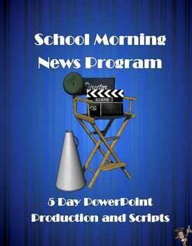 "If you produce or direct a School Morning News program or need ""animated"" PowerPoint slides that can run through the monitors of your school during the day, this is the product for you."
