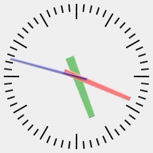 Perl X11::Protocol clock.