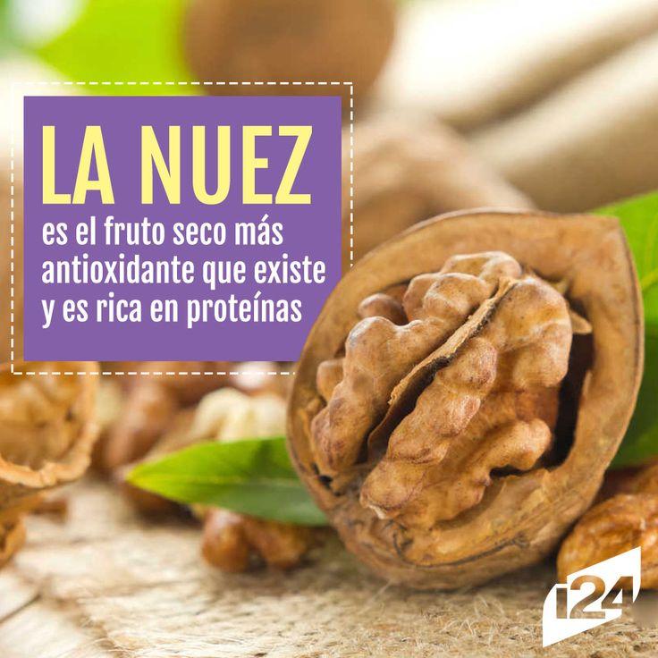 Agrégala a tus recetas #Nuez #Food #Alimento #Tips #Cocina