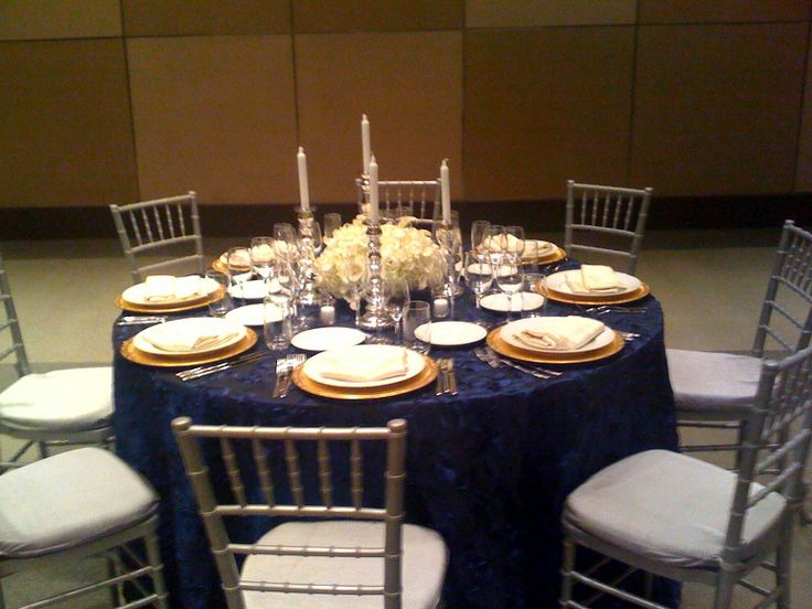 35 best Gold and Navy images on Pinterest | Table settings Events ... 35 Best Gold And Navy Images On Pinterest Table Settings Events & Mesmerizing Navy Blue And White Table Settings Ideas - Best Image ...