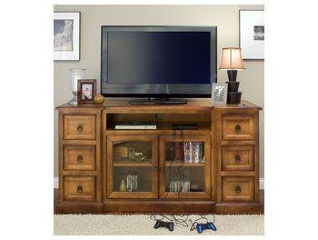Amish Bridgeport Flat Screen TV Cabinet 1729   Brandenberry Amish Furniture