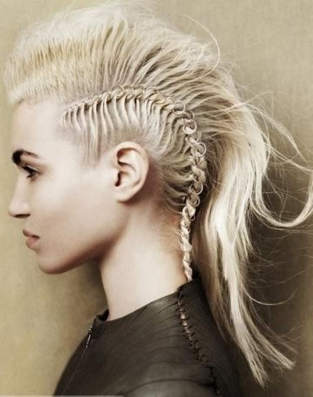 Can Someone Please Make A Tutorial For This Totally Awesome, Totally Crazy  Faux Hawk? Must Rock Hair Rings Soon. (via Angelo Seminara)