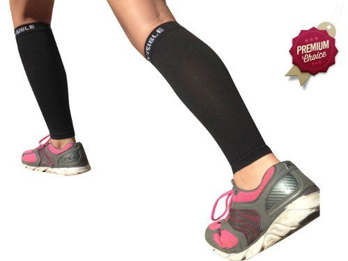 BeVisible Sports Men and Women's Leg Compression Sleeves