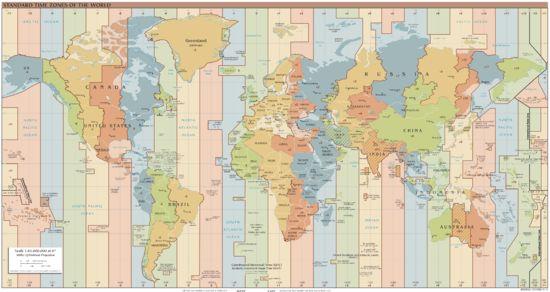 Fuso horário – Wikipédia, a enciclopédia livre