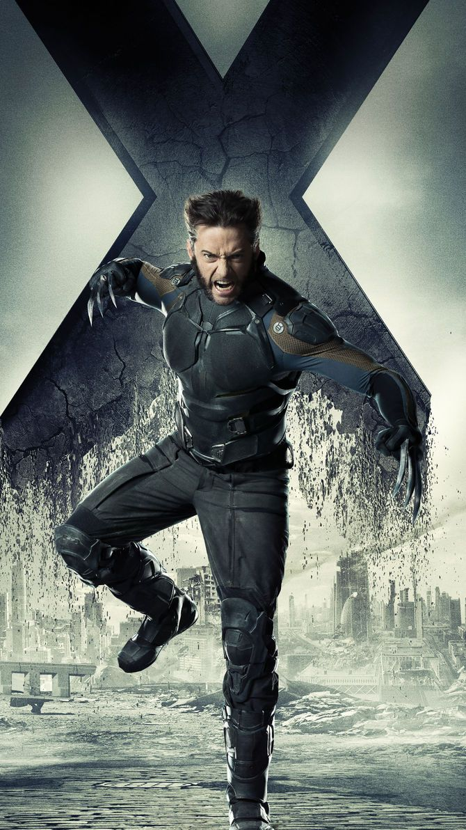 X Men Days Of Future Past 2014 Phone Wallpaper Moviemania Days Of Future Past X Men Wolverine Marvel