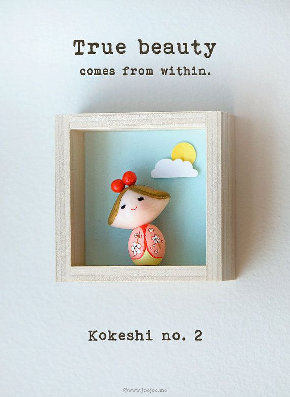 Polymer clay figurine Polymer clay miniature by JooJooTreasures