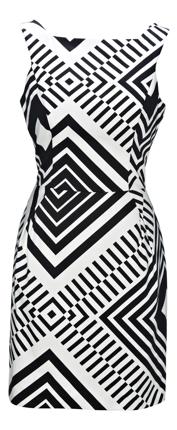 Dress from Cue. #monochrome is trending at Westfield New Zealand. Follow us on Pinterest, repin your favourite item and go in the draw to win* a Westfield Gift Card. Terms and conditions apply.