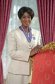 Black History Canada - Mayann Francis. She was the first African Nova Scotian to be a Lieutenant Governor of Nova Scotia