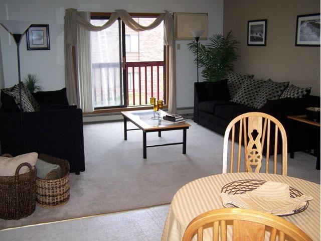 Dining/Living area of 2 bedroom - Gatewood Apts Waite Park