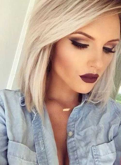 13-Short Blonde Hair 2017