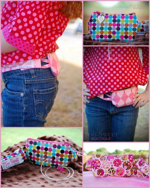 Girls Insulin Pump Pouch Simply Practical