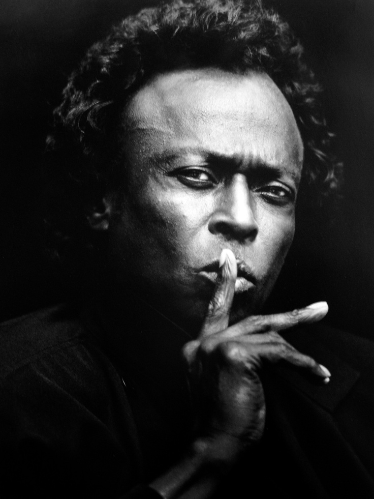 Miles Davis. His 'Kind of Blue' album has been described by many as the greatest jazz album of all time.