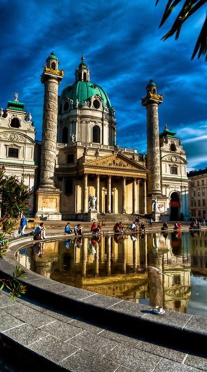 Karlskirche - Vienna - Austria